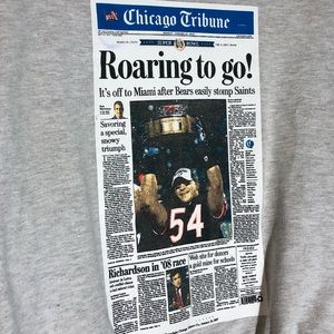 Jerzees Sweaters - 🔥 Chicago Bears Super Bowl Article Sweater Large